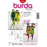 Burda Schnittmuster - 2450 - Damen Kostüm Früchtchen, Obst 001