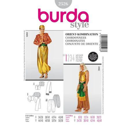 Burda Schnittmuster - 2526 - Kostüm - Unisex - Pharao