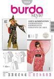 Burda Schnittmuster - 3044 - Damen Kostüm Asia-Kombination 001