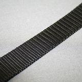 Gurtband schwarz Breite: 25 mm 001