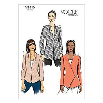 Vogue Schnittmuster V8910 - Damen - Jacke, Blazer