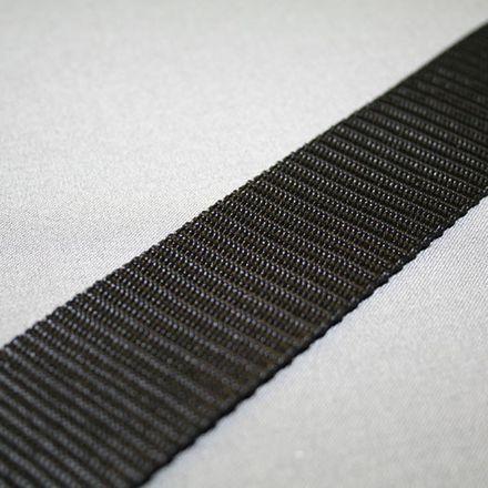 Gurtband - schwarz, Breite: 40 mm