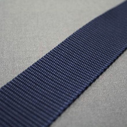 Gurtband - blau, Breite: 40 mm