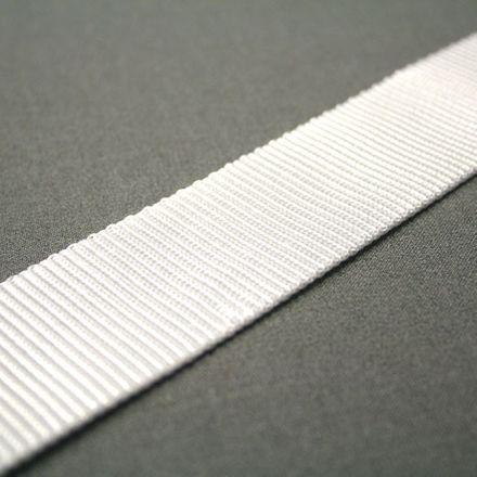 Gurtband - weiß, Breite: 40 mm