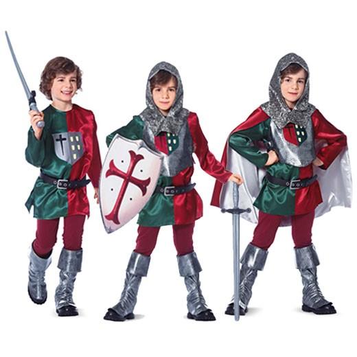 Schnitt 9446 Historisches Kostum Ritter Hemd Wams Umhang