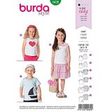 Burda Schnittmuster - 9439 - Kids - T-Shirt – Top 001