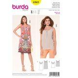 Burda Schnittmuster - 6969 - Damen Trägerkleid, Top 001
