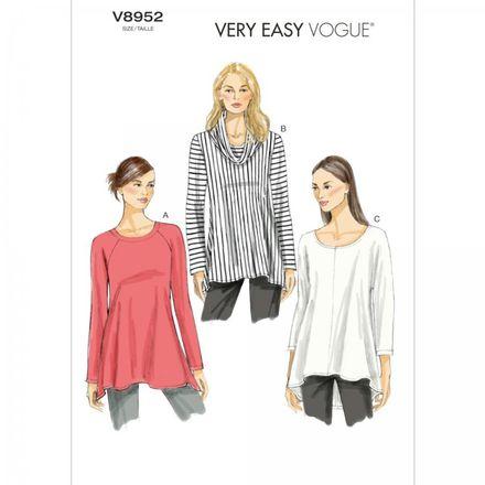 Vogue Schnittmuster V8952 - Damen - Shirt