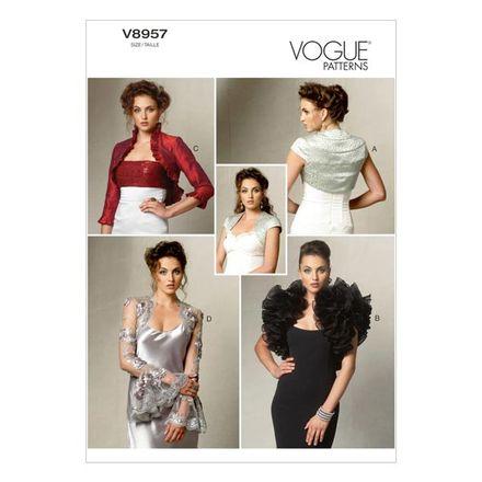 Vogue Schnittmuster V8957 - Damen - Jacke, Bolero