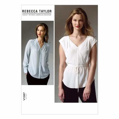 Vogue Schnittmuster V1387 - Damen Bluse