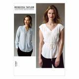 Vogue Schnittmuster V1387 - Damen Bluse 001