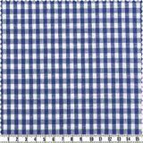 Madras-Karo - blau/weiß 001
