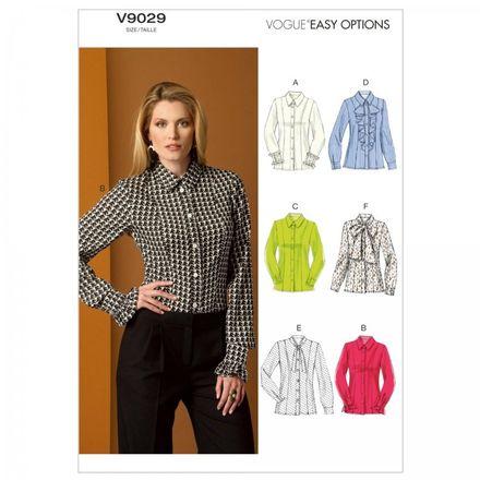 Vogue Schnittmuster V9029 - Damen - Bluse