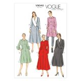 Vogue Schnittmuster V9040 - Damen - Mantel 001