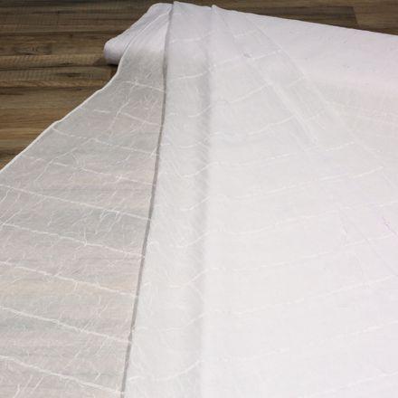 Voile-Crash-Store - 250 cm - weiß