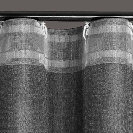 Newave Gardinenband für Drehgleiter 8cm