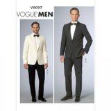 Vogue Schnittmuster V9097 - Herren - Anzug 001