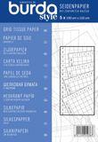 burda - Seidenpapier mit Zentimeter Raster 001