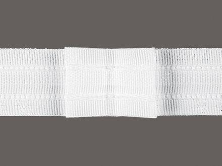 Gardinen-Faltenband 1 : 2 für 2er Falte