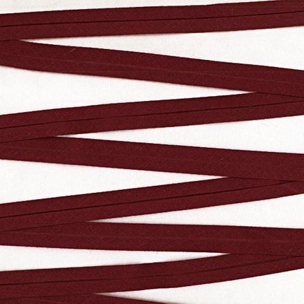 Baumwoll-Schrägband - 40/20mm - bordeaux