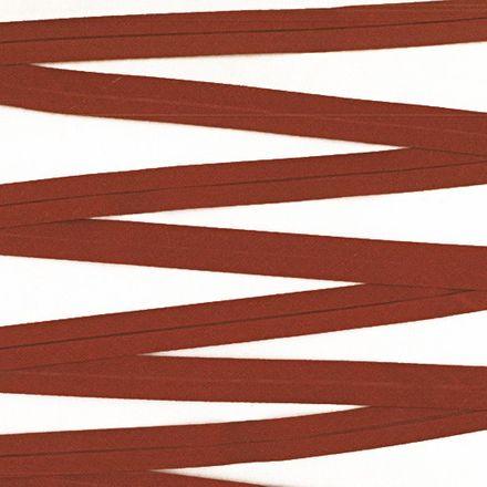 Baumwoll-Schrägband - 40/20mm - braun