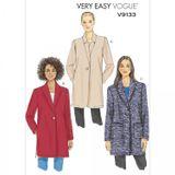 Vogue Schnittmuster V9133 - Damen - Jacke 001