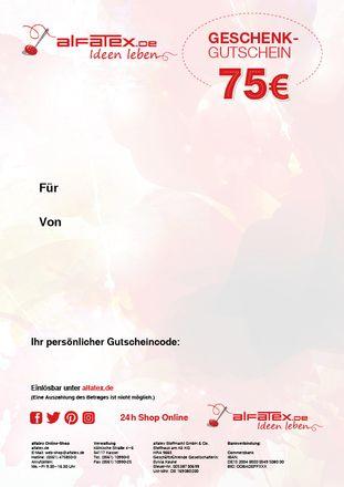 Geschenkgutschein - Web-Shop - 75 Euro – Bild 2