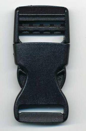 Schnalle aus Kunststoff - 20 mm