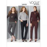 Vogue Schnittmuster V9155 - Damen - Hose 001