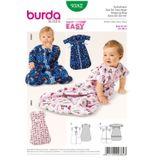 Burda Schnittmuster - 9382 - Kinder Baby-Schlafsack 001