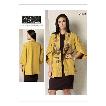 Vogue Schnittmuster V1493 - Damen Jacke