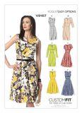 Vogue Schnittmuster V9167 - Damen - Kleid 001