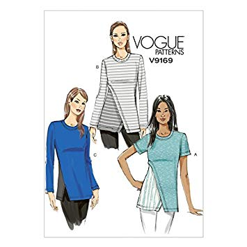 Vogue Schnittmuster V9169 - Damen - Shirt