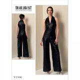 Vogue Schnittmuster V1506 - Damen Jumpsuit 001