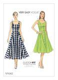 Vogue Schnittmuster V9182 - Damen - Kleid 001