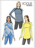 Vogue Schnittmuster V9227 - Damen - Shirt 001