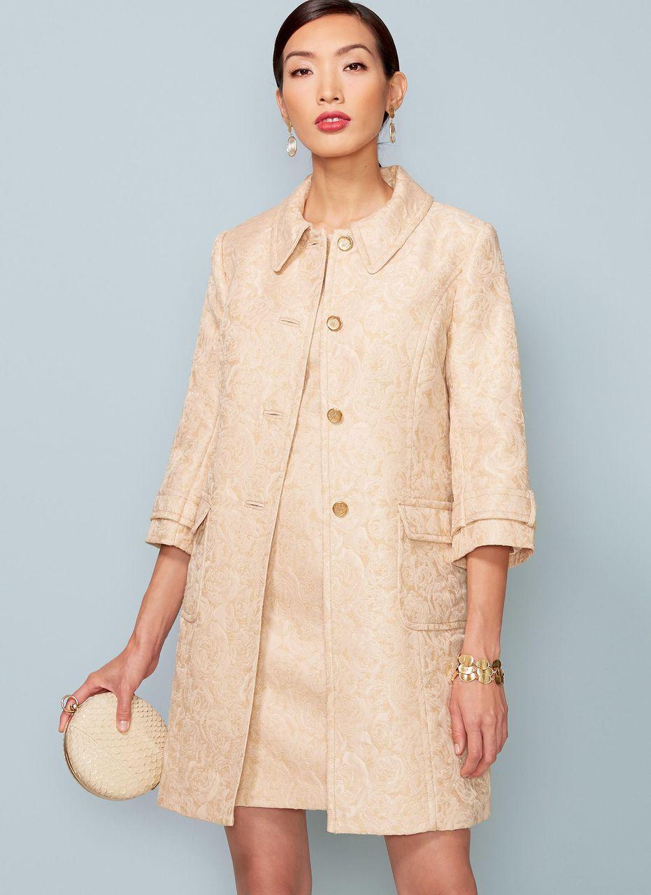 Vogue Schnittmuster V17 - Damen Kombination aus Jacke & Kleid