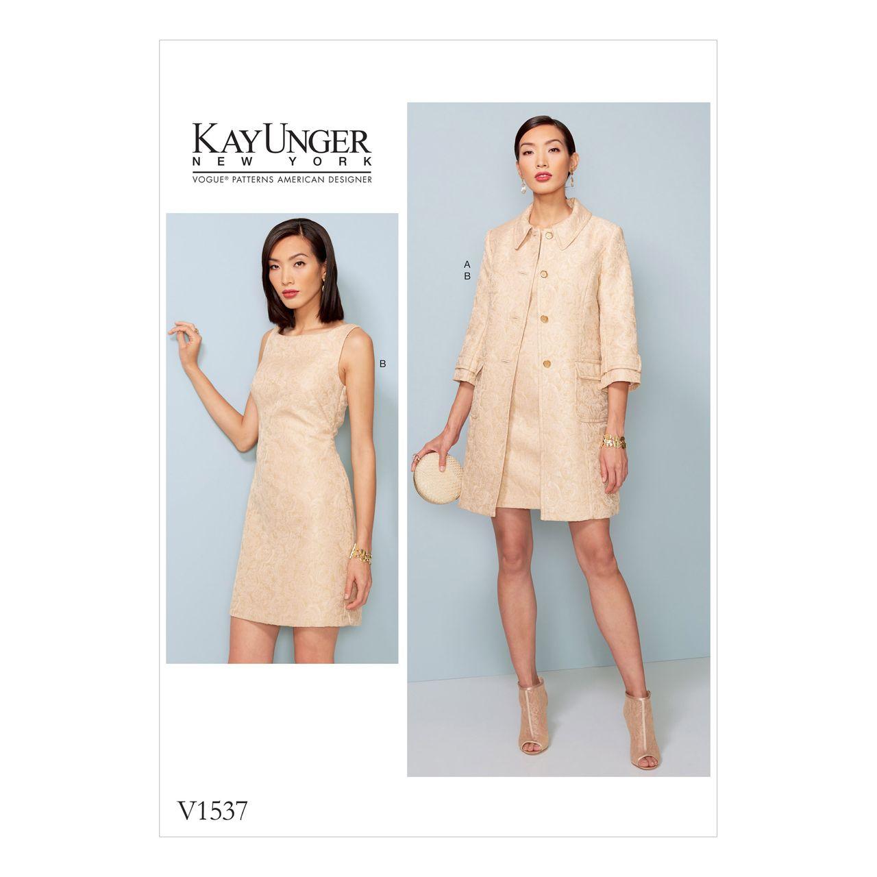 Vogue Schnittmuster V1537 SCHNITTE Schnittmuster Vogue Kleider – alfatex