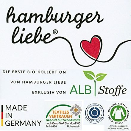 Hamburger Liebe - Into the Wild - Dreamy Mélange - Jersey – Bild 4
