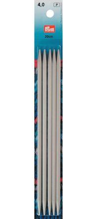 Strumpfstricknadeln - 4,0mm - 20 cm
