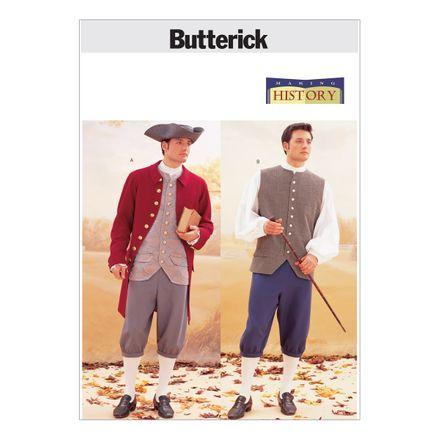 Butterick Schnittmuster - 3072 - Historisches Männerkostüm
