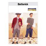 Butterick Schnittmuster - 3072 - Historisches Männerkostüm 001