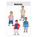 Butterick Schnittmuster - 3475- Kinder-Jungenbekleidung 001