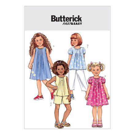 Butterick Schnittmuster - 4176 - Kinderbekleidung