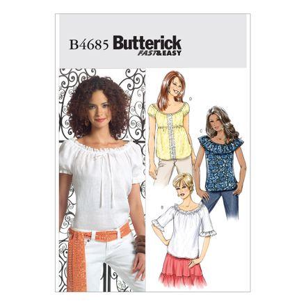 Butterick Schnittmuster - 4685 - Damen - Shirt