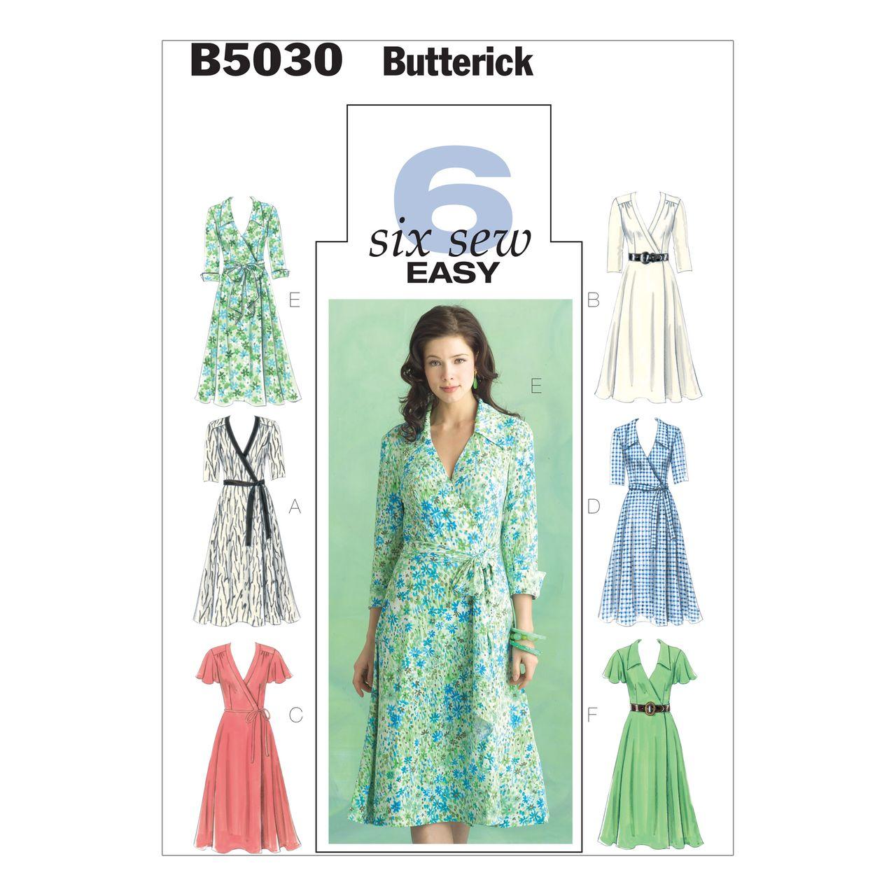 Butterick Schnittmuster - 5030 - Damen - Kleid SCHNITTE ...
