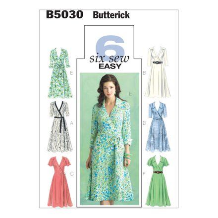 Butterick Schnittmuster - 5030 - Damen - Kleid