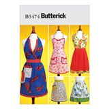 Butterick Schnittmuster - 5474 - Damen - Schürze 001