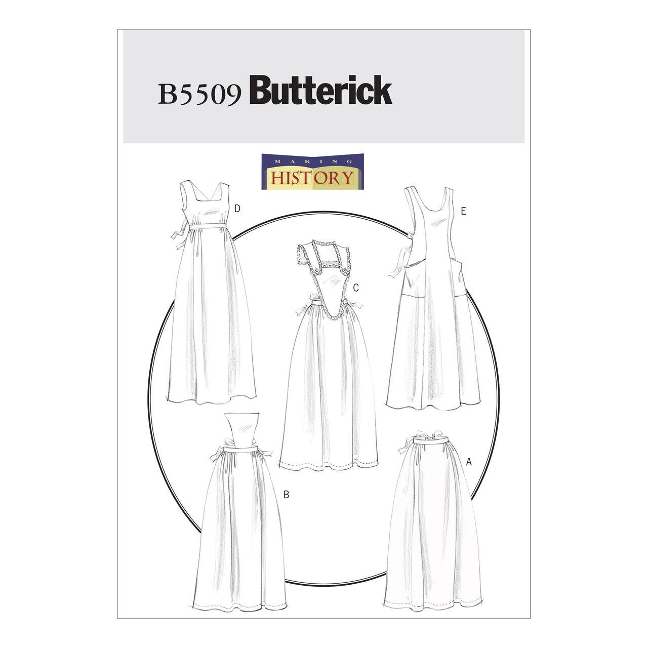 Butterick Schnittmuster - 5509 - Damen - Schürze SCHNITTE ...