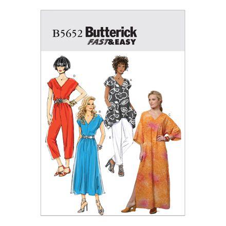 Butterick Schnittmuster - 5652 - Damen - Kleid, Jumpsuit